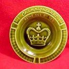 "Sarreguemines Champigneulles ""Reine Des Bieres"" Queen of Beers Promo Ashtray #32"