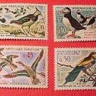 "France Scott set 978-981 A356 ""Lapwings"" Nov.12,1960"