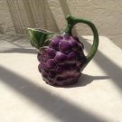 "Vintage Italian Grapes Pitcher ""Made in Italy"" #41"