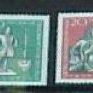 """German GDR Scott's #426-433 A141-144 """"In Order from Scott Catalog""""1959"""