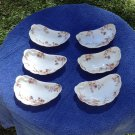 Antique Haviland Limoges Bone dishes set of six