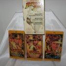 Indiana Jones - The Adventure Collection (VHS, 1999, 3-Tape Set, Full Frame)