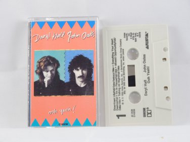 Ooh Yeah! by Daryl Hall & John Oates (Cassette Arista Records)