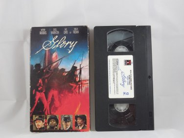 Glory (VHS, 1990, Closed Captioned)