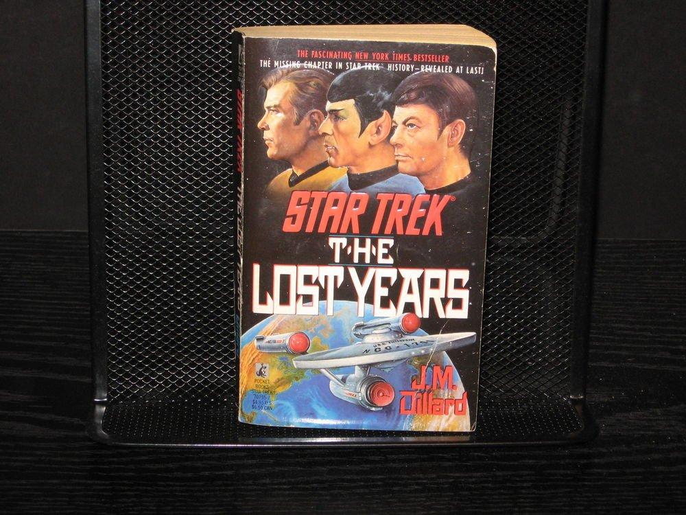 Star Trek: The Lost Years by J. M. Dillard (1990, Paperback, Reprint)