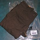 New Duluth Trading Co. Men's Fire Hose Cargo Work Pants 36 X 36 Dark brown
