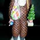 Vtg McCormick Distilling 70s Porcelain FATHER CHRISTMAS Whiskey Decanter Santa