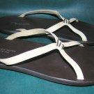 New Dries Van Noten simple leather slide sandals 38.5 8.5 8 1/2 flat