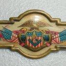 1890s Celluloid Jr. O.U.A.M. JR. ORDER OF UNITED AMERICAN MECHANICS vintage pin