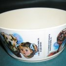 Vintage E.T. The Extra Terrestrial Bowl 1982 Deka Plastics Made in USA