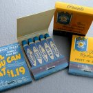 NOS 4 packs vintage Feature Matches Grants Bradford House Eat Fish Fry Matchbook