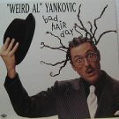 """WIERD AL YANKOVIC usa display BAD HAIR DAY 12"""" X 12"""" DOUBLE-SIDED POSTER. THIS I"""