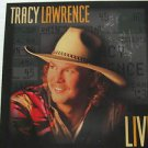 """TRACY LAWRENCE usa display LIVE Country 12"""" X 12"""" DOUBLE-SIDED POSTER. THIS IS N"""