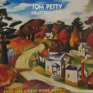 """TOM PETTY usa display INTO THE GREAT WIDE OPEN Rock 12"""" X 12"""" DOUBLE-SIDED POSTE"""