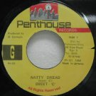 "SWEET C jamaica 45 NATTY DREAD 7"" Reggae PENTHOUSE"