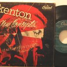 """STAN KENTON usa EP NEW CONCEPTS 7"""" Jazz HARD COVER PICTURE SLEEVE/2 RECORDS/TEAR"""