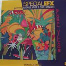"""SPECIAL EFX usa display GLOBAL VILLAGE 12"""" X 12"""" DOUBLE-SIDED POSTER. THIS IS NO"""
