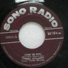 "SONORA SENSACION peru 45 DAME UN BESO 7"" Latin SONORADIO"