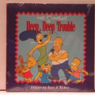 SIMPSONS usa CD DEEP DEEP TROUBLE Rock PROMO SINGLE SEALED 20TH CENTURY