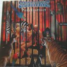 "SCORPIONS usa display PURE INSTINCT Rock 12"" X 12"" DOUBLE-SIDED POSTER. THIS IS"