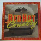 """SAMPLER usa display RED HOT+COUNTRY 12"""" X 12"""" DOUBLE-SIDED POSTER. THIS IS NOT A"""