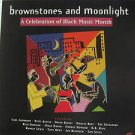 "SAMPLER usa display BROWNSTONES AND MOONLIGHT 12"" X 12"" DOUBLE-SIDED POSTER. THI"