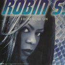 "ROBIN S. usa display FROM NOW ON 12"" X 12"" DOUBLE-SIDED POSTER. THIS IS NOT AN L"