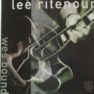 "LEE RITENOUR usa display WES BOUND 12"" X 12"" DOUBLE-SIDED POSTER. THIS IS NOT AN"