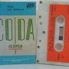 LED ZEPPELIN peru cassette CODA Rock SPANISH PRINT ATLANTIC