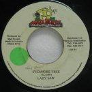 "LADY SAW jamaica 45 SYCAMORE TREE 7"" Reggae MAD-HOUSE"