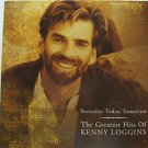 """KENNY LOGGINS usa display GREATEST HITS Pop 12"""" X 12"""" DOUBLE-SIDED POSTER. THIS"""