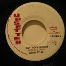 """JUNIOR BYLES/UPSETTERS jamaica 45 BEAT DOWN BABYLON/VERSION 7"""" Reggae WRITING ON"""