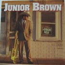 """JUNIOR BROWN usa display JUNIOR HIGH 12"""" X 12"""" DOUBLE-SIDED POSTER. THIS IS NOT"""