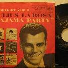 "JULIUS LA ROSA usa 45 PAJAMA PARTY 7"" Vocal PICTURE SLEEVE RCA"