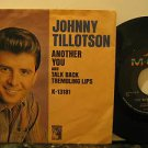 """JOHNNY TILLOTSON usa 45 ANOTHER YOU 7"""" Rock PICTURE SLEEVE MGM"""