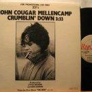 """JOHN COUGAR MELLENCAMP usa 12"""" CRUMBLIN' DOWN Rock PROMO RIVA"""