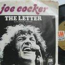 "JOE COCKER usa 45 THE LETTER/SPACE CAPTAIN 7"" Rock PICTURE SLEEVE AM"
