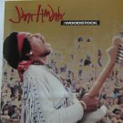 "JIMI HENDRIX usa display WOODSTOCK Rock 12"" X 12"" DOUBLE-SIDED POSTER. THIS IS N"