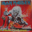 """IRON MAIDEN usa display A REAL LIVE ONE Rock 12"""" X 12"""" DOUBLE-SIDED POSTER. THIS"""
