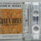 GUNS N' ROSES peru cassette THE SPAGHETTI INCIDENT Rock SPANISH PRINT VIRREY exc