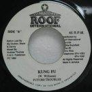 "FUTURE TROUBLES jamaica 45 KUNG FU 7"" Reggae ROOF-INTERNATIONAL"