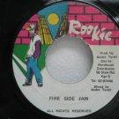 "FIRE SIDE JAM jamaica 45 S/T SELF SAME UNTITLED 7"" Reggae ROOKIE"