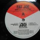 "FAT JOE usa 12"" HERE'S A LITTLE STORY Dj WHITE JACKET ATLANTIC"