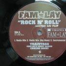 """FAMLAY & LIL' FLIP usa 12"""" ROCK N' ROLL Dj WHITE JACKET STAR-TRAK"""