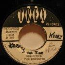 """ESCORTS jamaica 45 SIXPENCE/LOVING FEELING 7"""" Reggae REGGAE/WRITING ON LABEL TRE"""