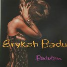 """ERYKAH BADU usa display BADUIAN 12"""" X 12"""" DOUBLE-SIDED POSTER. THIS IS NOT AN LP"""