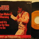"ELVIS PRESLEY usa 45 WE CAN MAKE THE MORNING 7"" Rock PICTURE SLEEVE/UNTIL IT'S T"