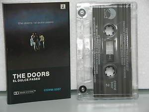 DOORS mexico cassette EL DULCE PASEO Rock SPANISH PRINT ELEKTRA excellent
