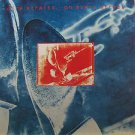 "DIRE STRAITS usa display ON EVERY STREET Rock 12"" X 12"" DOUBLE-SIDED POSTER. THI"
