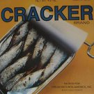"""CRACKER BRAND usa display S/T SELF SAME UNTITLED 12"""" X 12"""" DOUBLE-SIDED POSTER."""